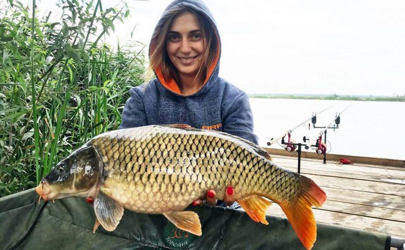 Карповая рыбалка в Украине